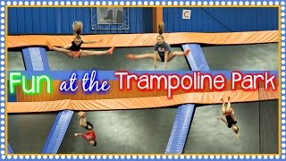 amazing kid tricks fun at the indoor trampoline park