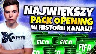 ???? NAJWIĘKSZY PACK OPENING W HISTORII!!! | FIFA 19 STREAM - Na żywo