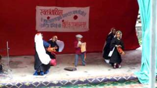 Garhwali Folk Song & Dance: Independence Day Celebrations at Mana in Uttarakhand