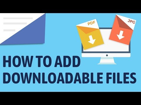 How To Add A Downloadable File With Wordpress - Add A Direct Download Link!