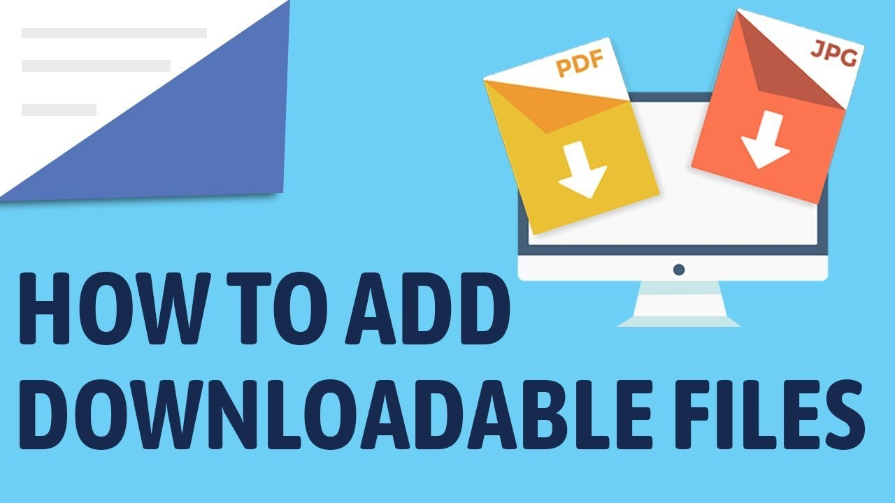 how to add a downloadable file with wordpress add a direct