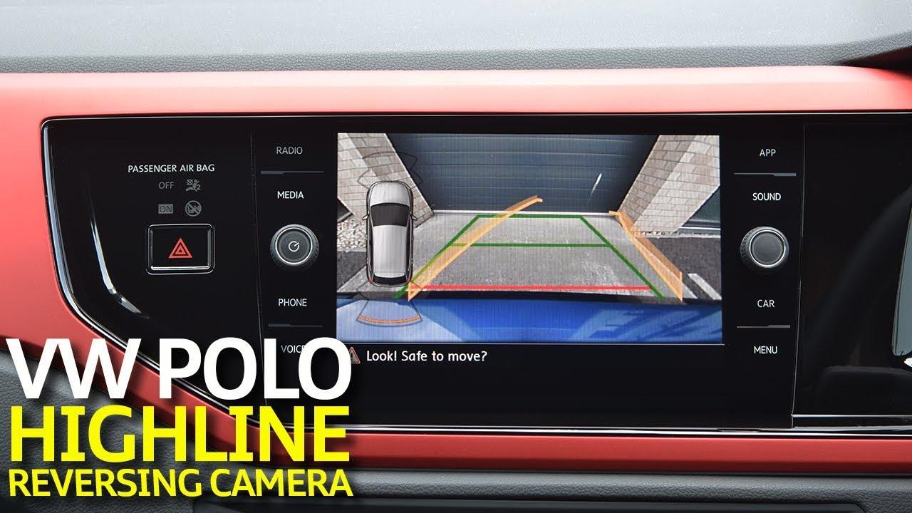 Vw Polo Aw 2018 Highline Reversing Camera Retrofit Youtube