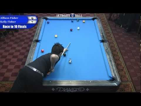 Allison Fisher vs Kelly Fisher in the Ultimate 10-Ball Championships Final