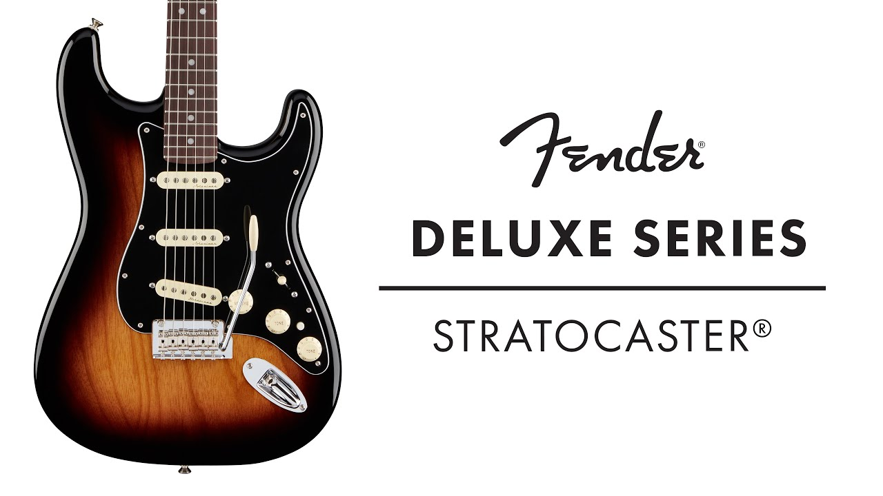 fender deluxe series stratocaster demo fender youtube