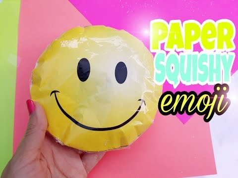 DIY PAPER SQUISHY   HOW TO MAKE A SQUISHY WITHOUT FOAM