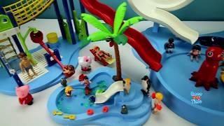 Playmobil Summer Fun Water Building Toy Playset plus sea animal toys
