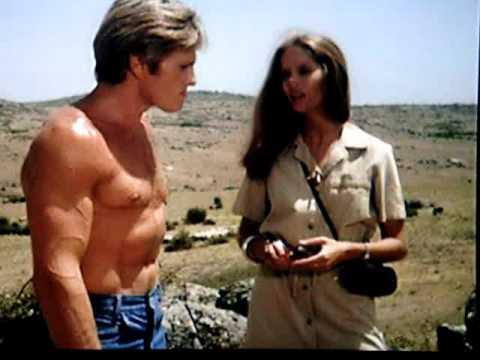 "Nice Barbara Bach 3 / 6 "" Jaguar Lives "" 1979"