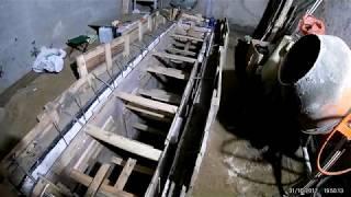 как залить яму в гараже на высоких грунтовых водах?