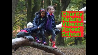Nature Vibezzz Forest School activities with Primary School
