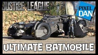 Justice League Ultimate Batmobile Mattel DC Comics 1:10 Scale Vehicle Video Review