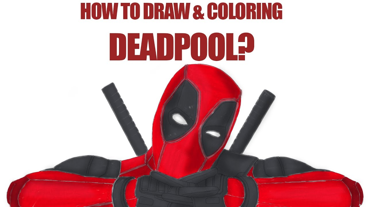 Superior Deadpool Coloring Pages For Kids   YouTube