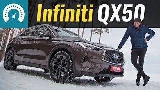 Новый Infiniti QX50 в Украине