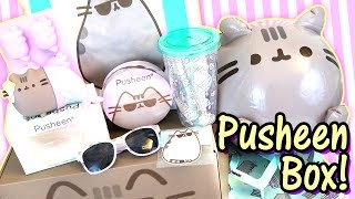 Pusheen Cat Box Summer 2016 - Kawaii Subscription Box Unboxing - So much Official Merch Cuteness!! thumbnail