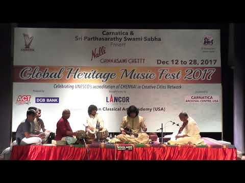 U.Rajesh l  Mandolin  l Global Heritage Music Fest 2017 l Web Streaming