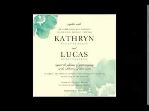 top watercolor wedding invitations watercolor invitation ideas