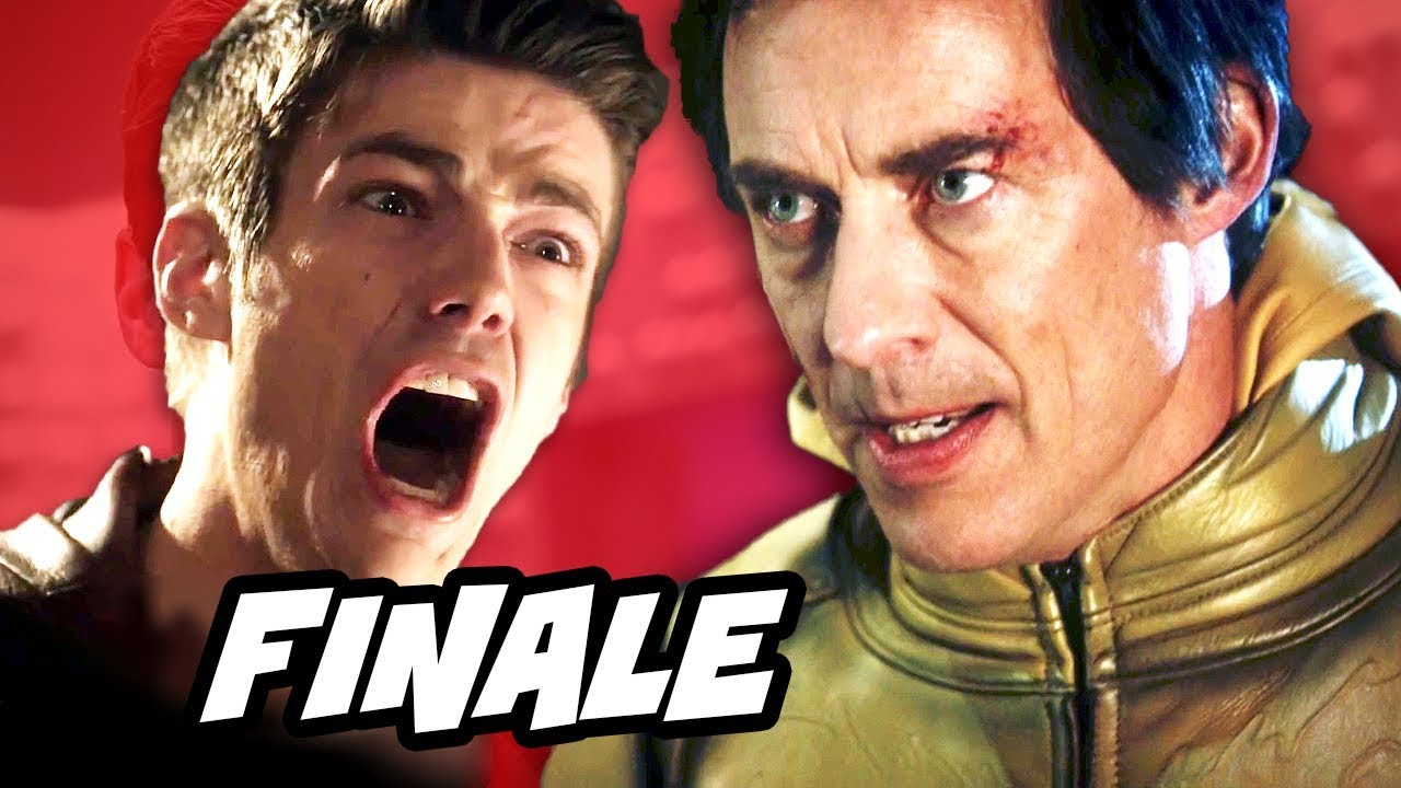 The Flash Episode 23 Finale - TOP 10 WTF and Easter Eggs - YouTube