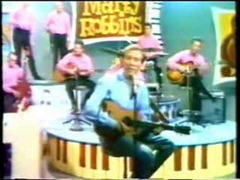 Marty Robbins Singing Roll Along Kentucky Moon