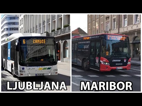 Buses | Ljubljana vs Maribor