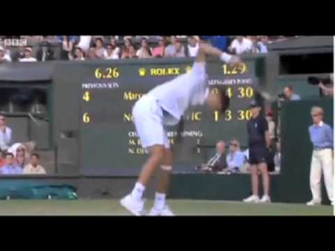 Djokovic vs. Baghdatis: Rally and Rage at 2011 Wimbledon