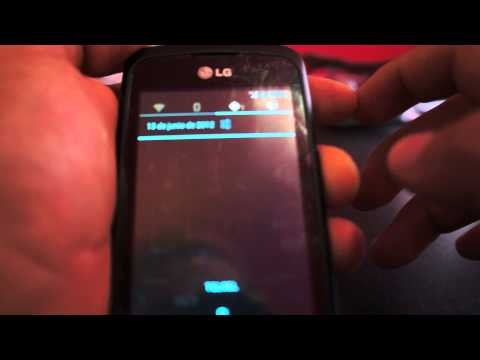 LG Optimus One P500 Ice Cream Sandwich 4.0.4