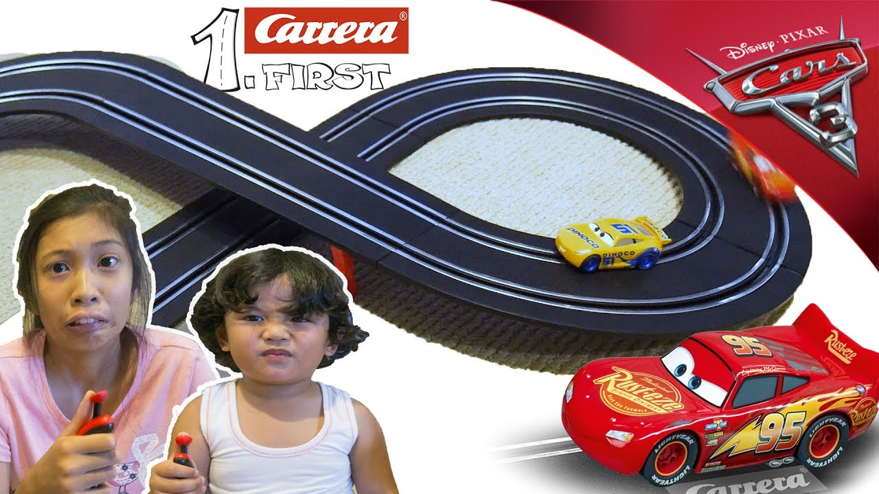 Carrera 1 First Cars Dinoco Cruz neu