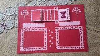 Video 19: Hướng dẫn tự làm Scrapbook/ How to make  Handmade Scrapbook (P1)