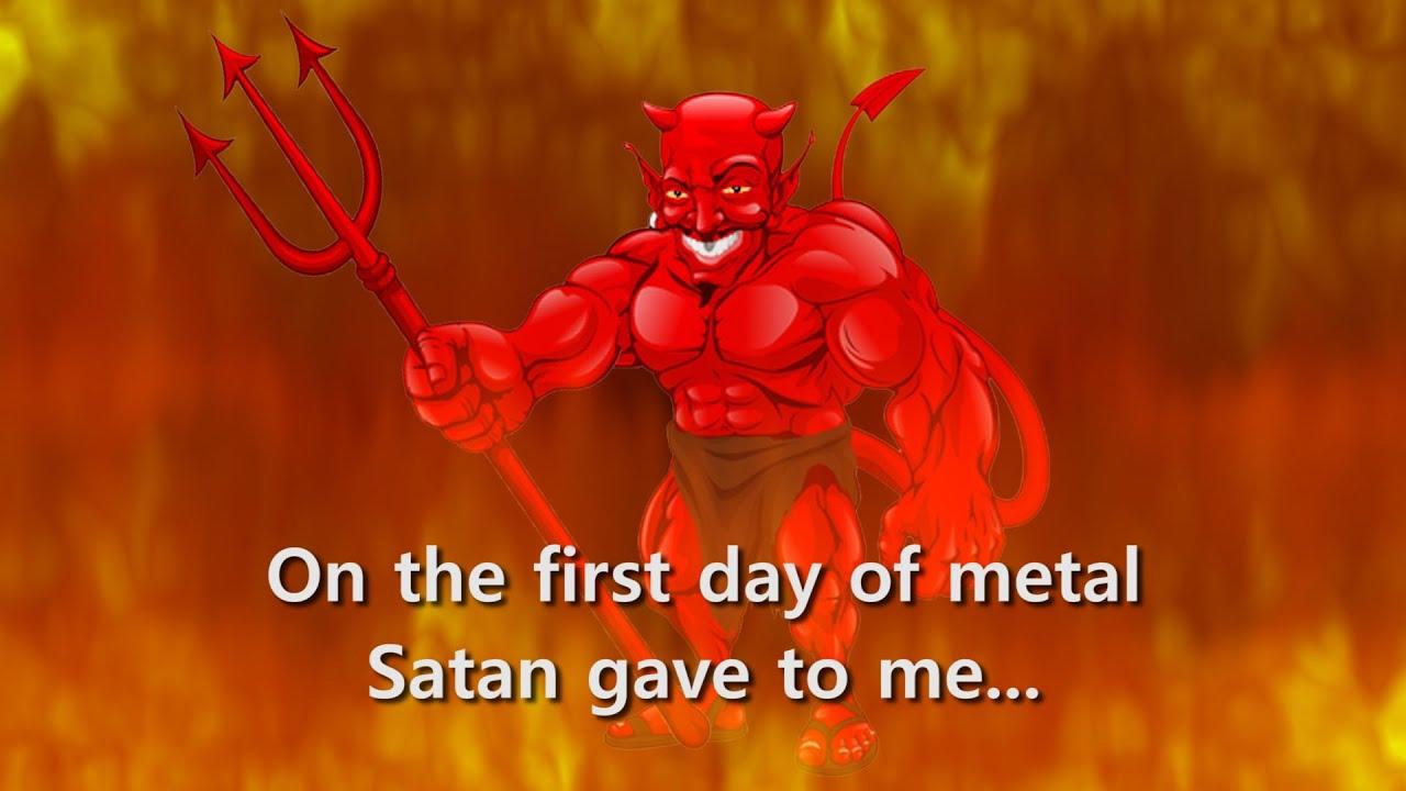 the 12 days of metal death metal christmas parody song rogerbeaujard youtube - Death Metal Christmas Songs