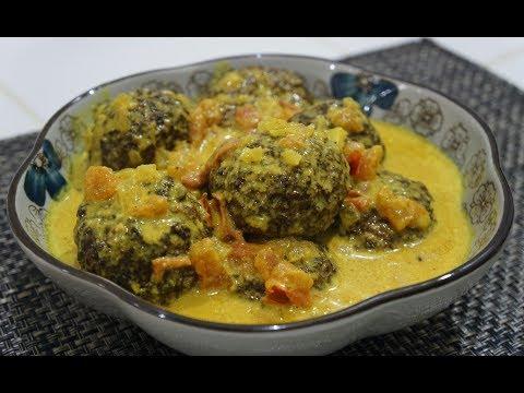 🇬🇧🇮🇳 Keema Kofta Recipe - Indian Spicy Meatballs Curry - Easy n Delicious