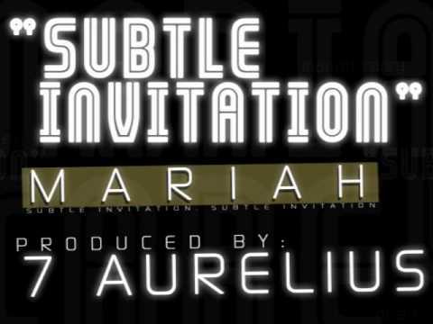 Subtle invitation mariah carey produced by 7 aurelius youtube subtle invitation mariah carey produced by 7 aurelius stopboris Image collections