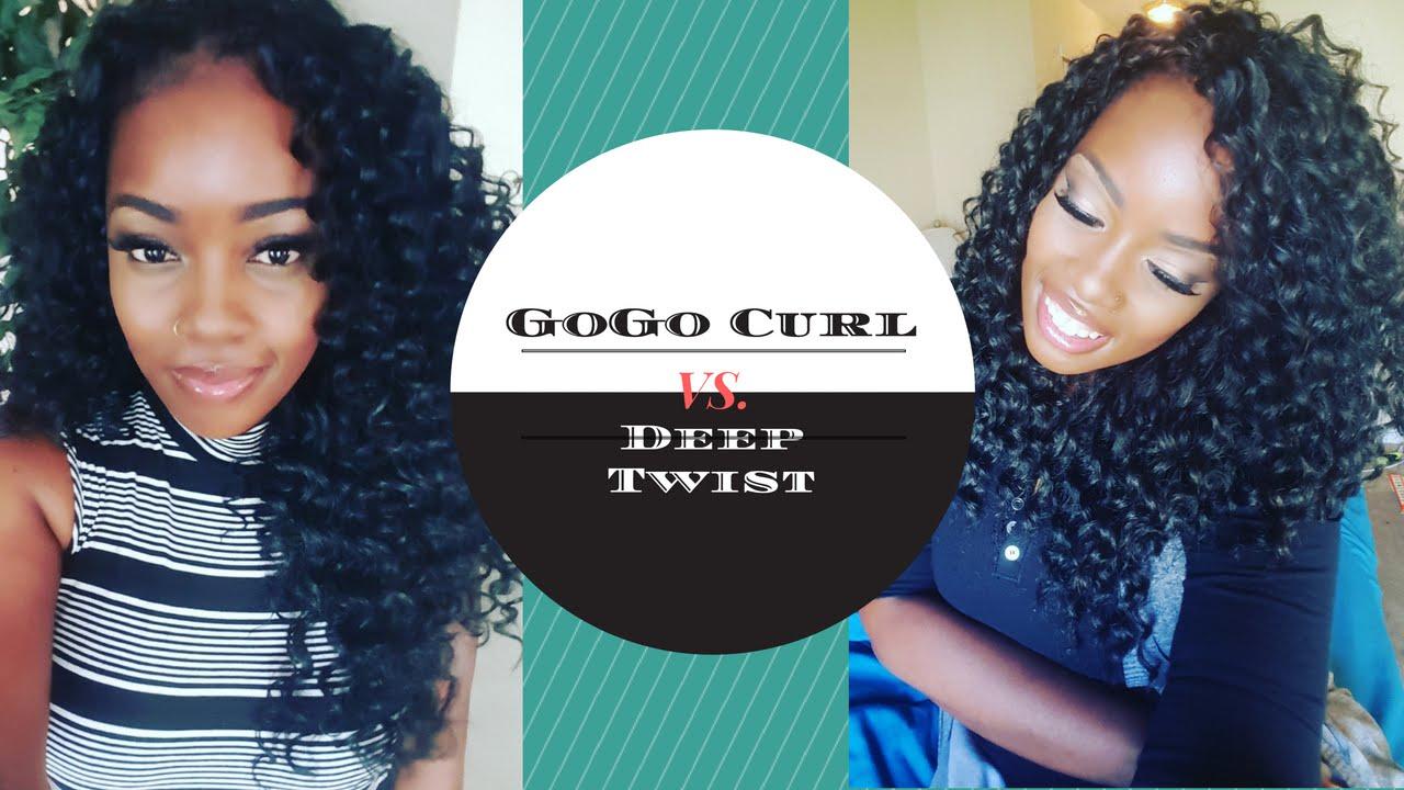 Crochet Gogo Curl Vs Deep Twist Youtube