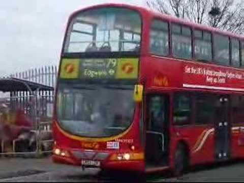 Route 79 London Buses On 28 November 2007 Youtube
