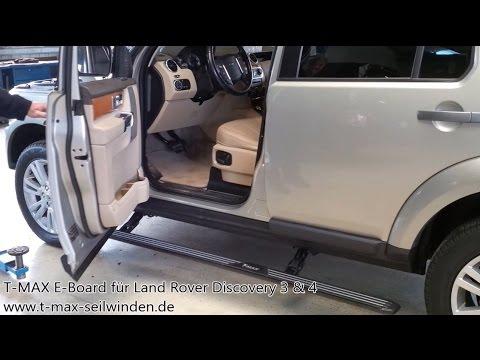 T MAX E Board für Land Rover Discovery 3 & 4