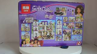 Mở hộp Lepin 01045 Lego Friends 41101 Heartlake Grand Hotel giá sốc rẻ nhất