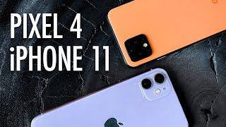 Pixel 4 Video Review (vs. iPhone 11)