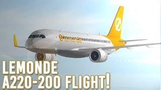 ROBLOX | LeMonde A220-200 Flug!