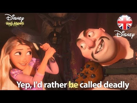 Disney Sing Alongs I Ve Got A Dream Tangled Lyric Video Official Disney Uk Youtube