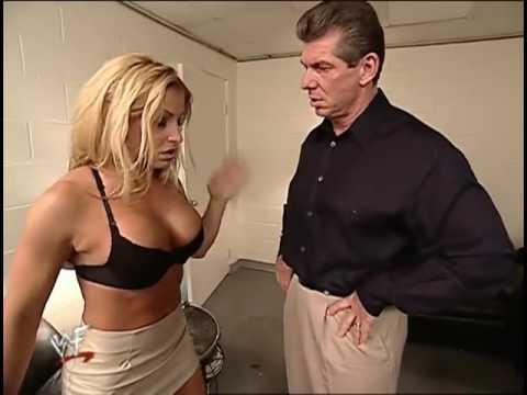 Trish Stratus & Vince McMahon Backstage thumbnail