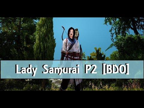 [Black Desert Online] Maehwa Gameplay P2 | Power Leveling Lady Samurai | No Commentary