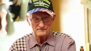 Lonnie Cook, a Pearl Harbor Survivor, talks about what he experienced on Dec. 7, 1941.