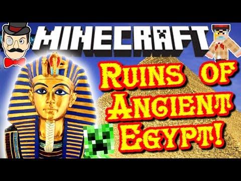 Minecraft ANCIENT EGYPT Dimension! Mummies, Traps, Ghosts, Treasure & Pharaohs!