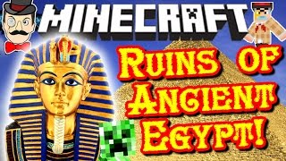 Minecraft ANCIENT EGYPT Dimension! Mummies, Traps, Ghosts, Treasure & Pharaohs!