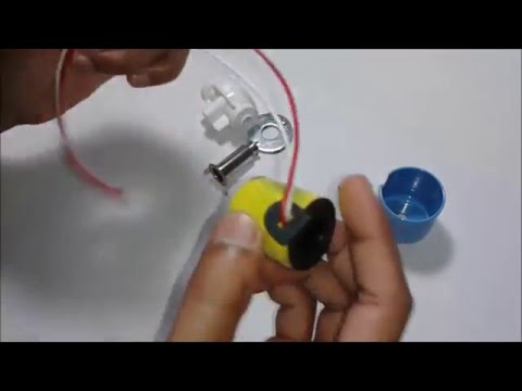 Inside view of solenoid valve | Let