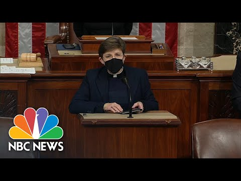 First Female Congressional Chaplain Condemns Capitol Riot In Opening Prayer | NBC News NOW