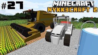 FARMING SIMULATOR IN MINECRAFT! MEZZI FUNZIONANTI w/Poderak #27 - Minecraft ITA NYKK3CRAFT S2 MOD