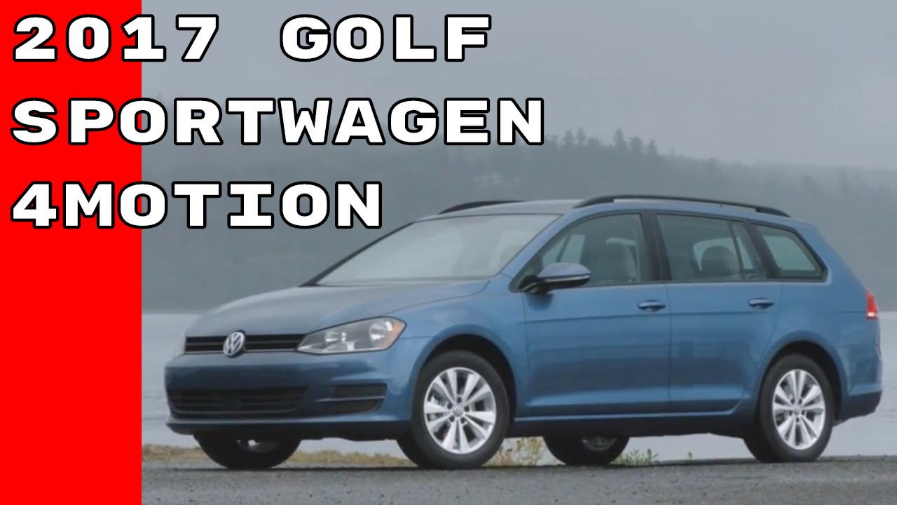 Us Spec 2017 Volkswagen Golf Sportwagen 4motion