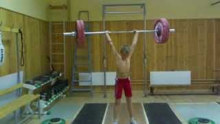 Толчок на силу (125 кг)