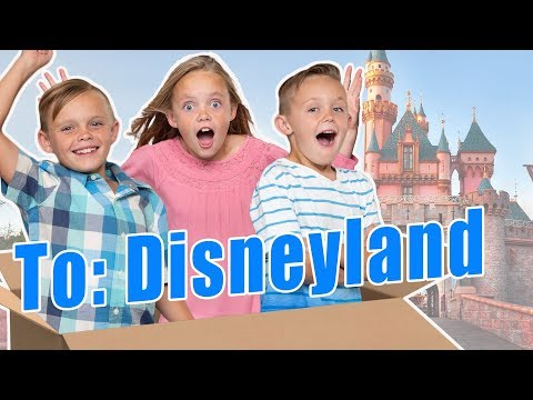 Tinkerbell Magically Flew Us To Disneyland!  Full Skit Video! Kids Fun TV Family Vacation!