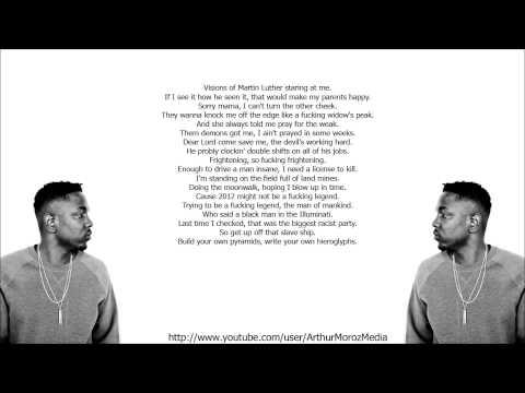 Kendrick Lamar - HiiiPOWER (HD Lyrics)
