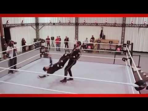 WWE 2K15 Behind the Scenes Mocap Official Dev Diary