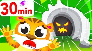 Can You find Baby Tiger In his Cave? Where Are My Stripes? by Little Angel